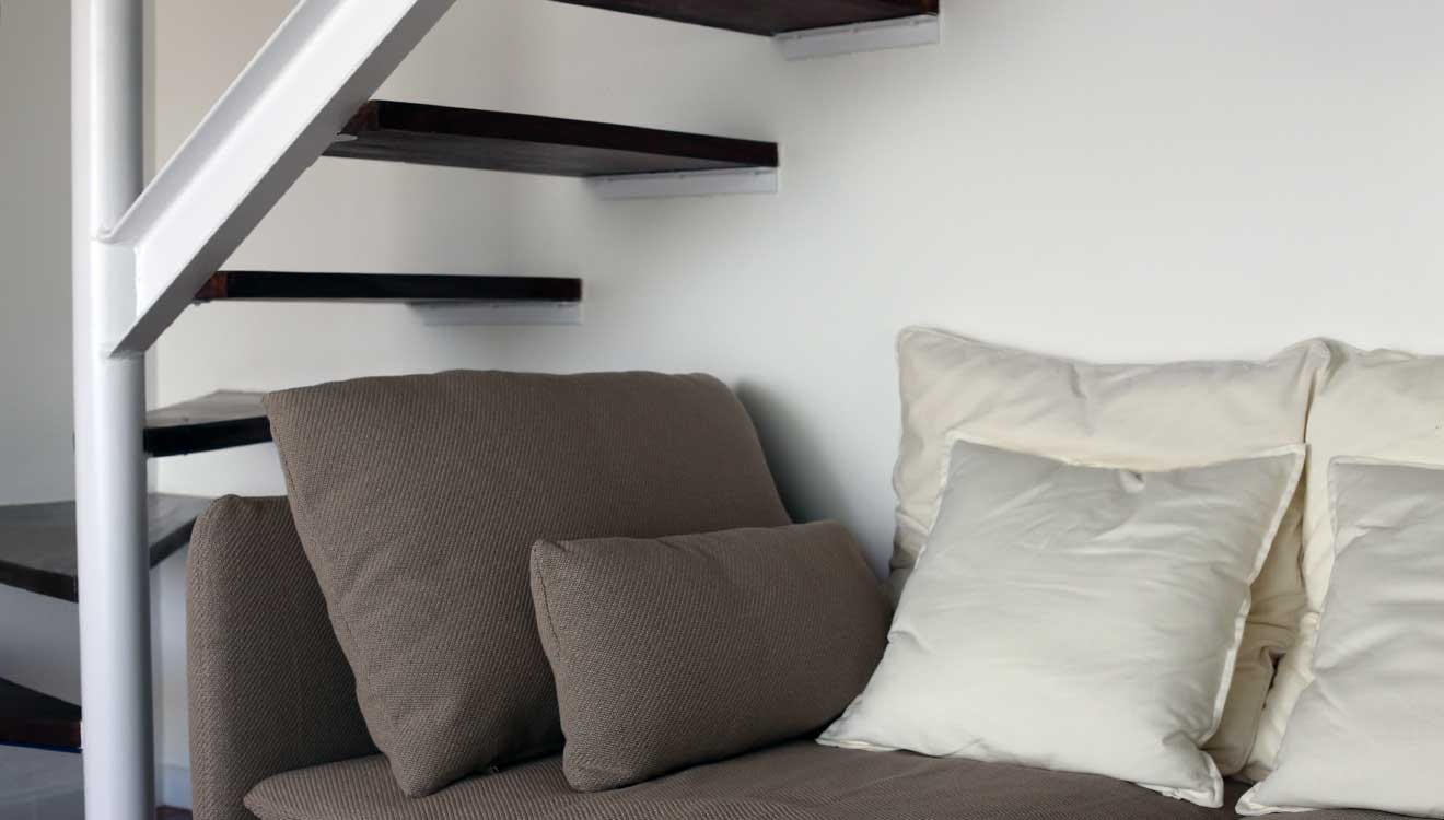 living room - detail