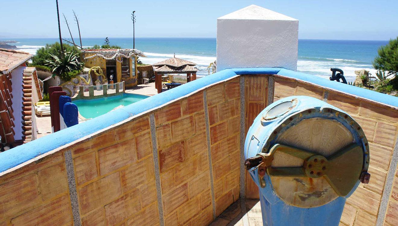 the boat villa's sundeck